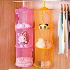 20+ Creative DIY Ways To Organize And Store Stuffed Animal Toys. Net BagHanging  StorageStorage ...