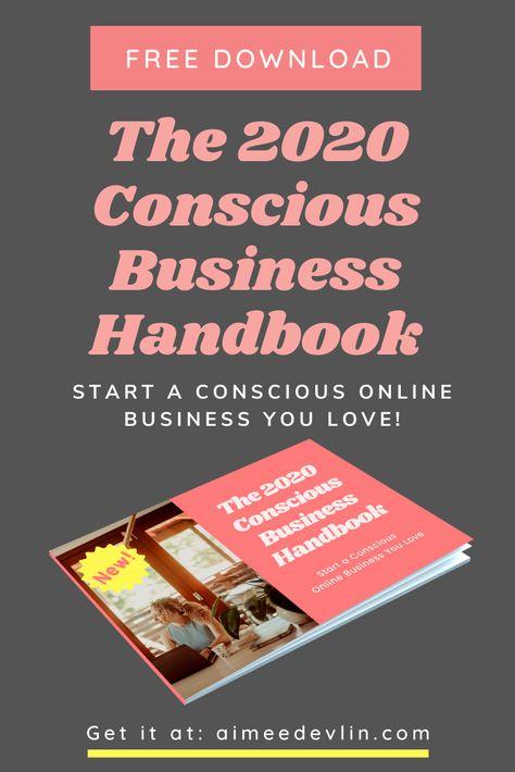 The 2020 Conscious Business Handbook