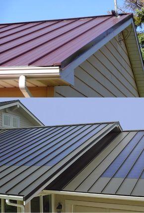 35 Stunning Metal Roof Design Ideas In 2020 Metal Roof Roof Design Metal Roof Installation