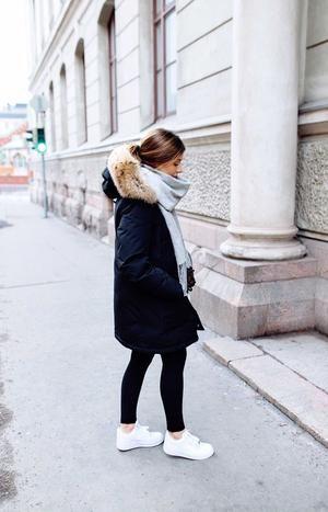 Luxurious Long Multi Color Fox Fur Collar & Lining Parka Coat - Source by carinadottai -