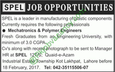 Engineering Jobs Vacancies In SPEL Pakistan 2017 Jobs In - petroleum engineer job description