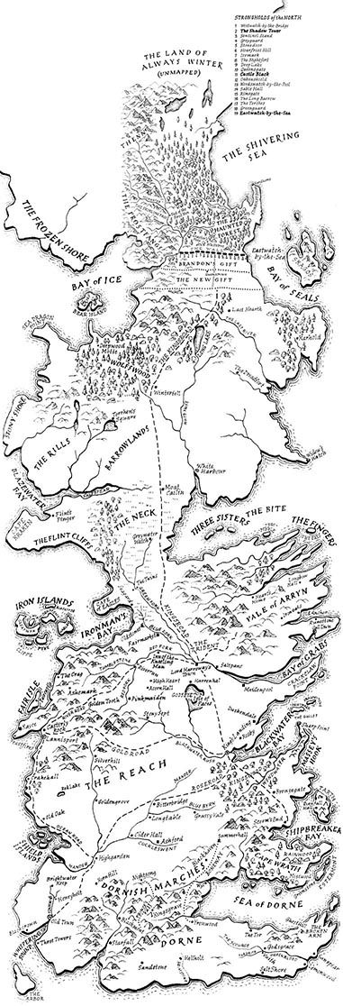 Image result for worldbuilding maps westeros