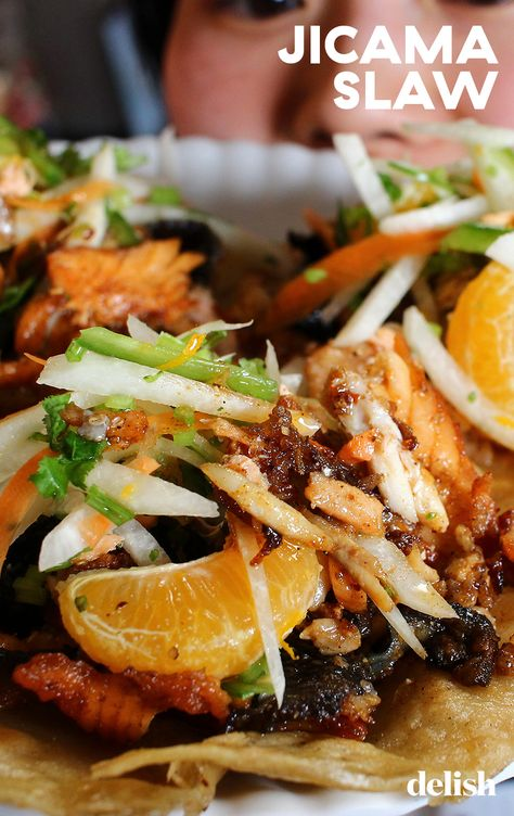Crisp, cool, refreshing, and so easy to make, this jicama slaw is a sleeper hit.