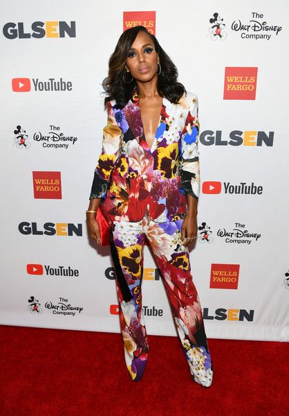 Kerry Washington attends the 2017 GLSEN Respect Awards.