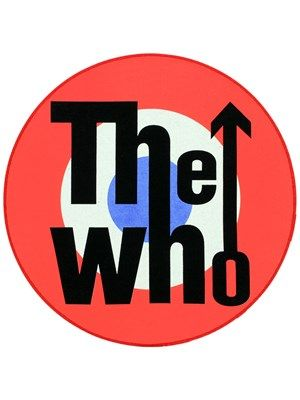 The Who Target Patch In 2019 Rock Band Logos Band Logos
