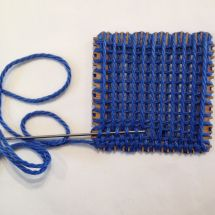Pin weaving without pins