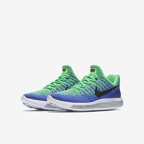 b135cc96d4b6b Nike LunarEpic Low Flyknit 2 Big Kids  Running Shoe