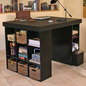 Wayfair Project Table Craft Tables With Storage Craft Room Tables Craft Room Design