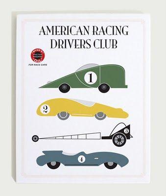 Race Cars American Racing Retro Cars Retro Art