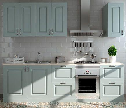 Composición De Cocina Delinia Gales Azur 300 Cm Leroy
