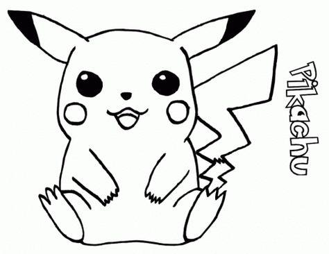 Desenhos Do Pikachu Para Imprimir E Colorir Pokemon Para Colorir