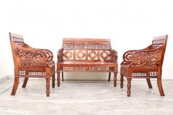 5 Seater Wooden Sofa With Center Table Used Furniture For Sale Wooden Frame Sofa Wooden Sofa Used Furniture For Sale