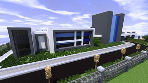 Modern Large Power Plant Minecraft Project Minecraft Haus