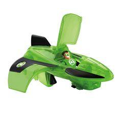 Imaginext DC Super Friends Green Lantern Jet - Fisher-Price Online Toy Store