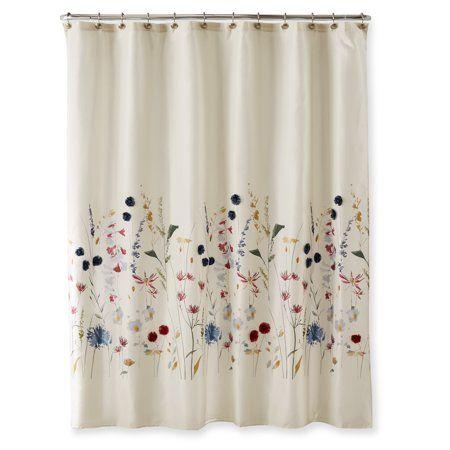 Home Shower Curtains Walmart Floral Shower Curtains Curtains