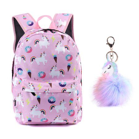 Feature In 2020 Girl Backpacks Little Girl Backpack Unicorn