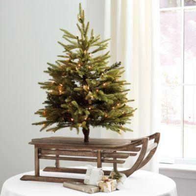 Prelit Sled Christmas Tree Christmas Table Centerpieces Christmas Tree Pre Lit Christmas Tree