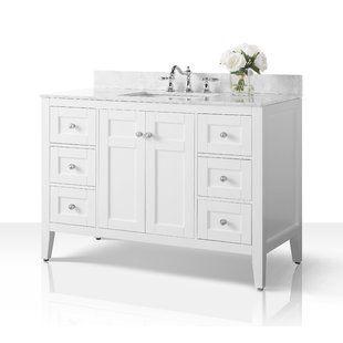 48 Inch Bathroom Vanities At Great Prices Wayfair Single