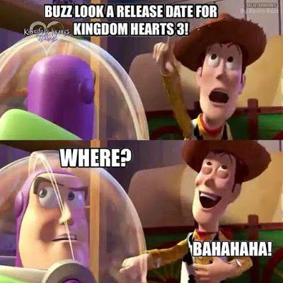 Kingdom Hearts 3 Release Date Kingdom Hearts 3 Switch Kingdom Hearts 3 Memes Funny Kingdom Hearts Funny Kingdom Hearts Kingdom Hearts 3