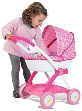 Smoby Wozek Dla Lalek Gondola Gleboki Princess 7285811283 Oficjalne Archiwum Allegro Baby Strollers Stroller Baby