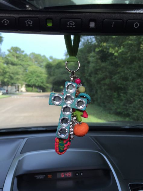 Funky Chunky Rear View Mirror Car Charm