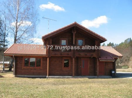 18000 Fully Equipped Swan Log Cabin Meets All the Need for