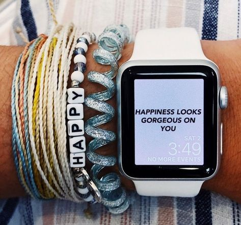 Apple Watch faces - happiness looks gorgeous on you