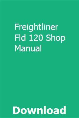 Freightliner Fld 120 Shop Manual Repair Manuals Chilton Repair Manual Dyna Wide Glide