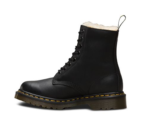 57e97b619b53 Dr martens fur-lined 1460 serena wyoming in 2019