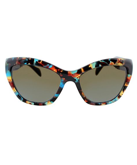 308d985417d Havana+cat+eye+sunglasses+by+Prada+on+secretsales.com