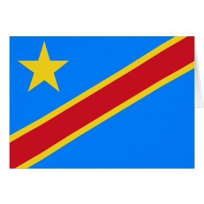 Democratic Republic Of The Congo Flag Zazzle Com Congo Flag Republic Flag Patriotic Flag