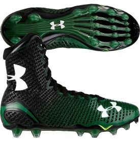 under armour high top football cleats