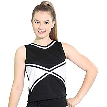 Danzcue Girls Cheerleading Basic Bodyliner Top Sportswear Bodysuits