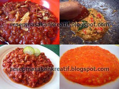 Resep Aneka Sambal Enaknya Pedas Resep Resep Makanan Resep Masakan Indonesia