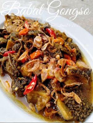 Babat Gongso Di 2020 Resep Masakan Resep Makanan Resep