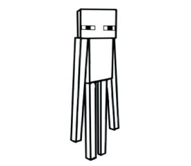 Minecraft Para Colorear Creeper Dibujo De Creeper Para Colorear