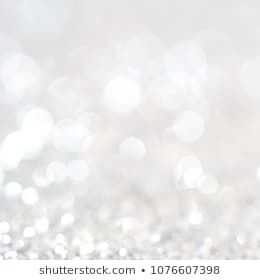 Lights On White Silver Background Abstract Beautiful Blink Light With Bokeh Bright Winter And Christmas Decoration Silver Background Bright Winter White Silver