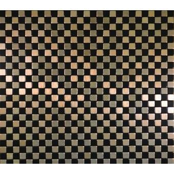 11 X 11 Metal Peel Stick Mosaic Tile Peel Stick Backsplash Mosaic Tiles Peel And Stick Tile