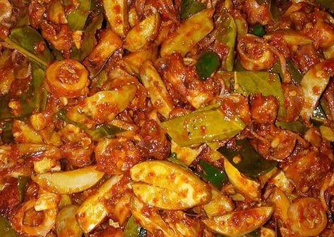 Resep Balado Cumi Asin Jengkol Oleh Dessy Deriyanti Resep Resep Makanan Resep Masakan Makanan