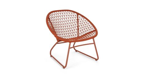 Bene Sienna Red Lounge Chair in 2020 | Chair, Lounge, Red