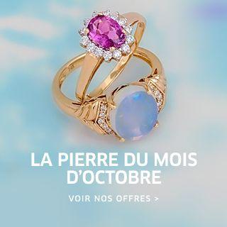 Opale Et Tourmaline Pierres Du Mois D Octobre Bijoux Pierre Precieuse Bijoux Argent