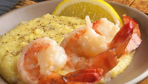 Butter-Poached Shrimp with Grits | The Splendid Table