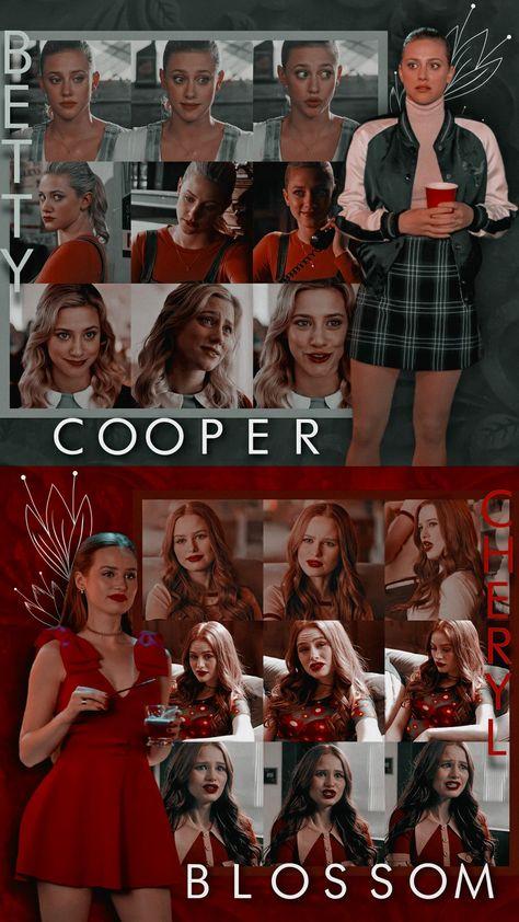 Betty cooper and cheryl blossom