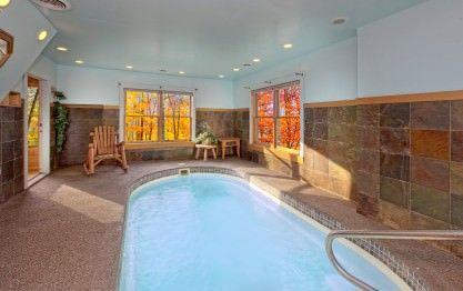 A Secret Splash Cabin In Wears Valley Indoor Pool Secluded Cabin Cabin