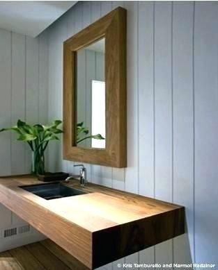 Image Result For Diy Floating Wood Vanity Floating Bathroom