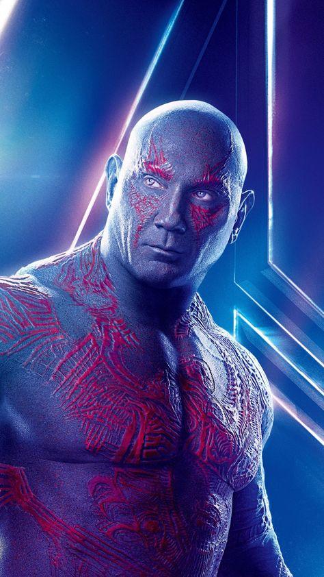 Avengers: infinity war, Dave Bautista, drax, movie, 720x1280 wallpaper