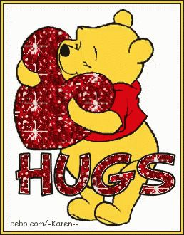 The perfect Hug Glitter WinnieThePooh Animated GIF for your conversation. Discover and Share the best GIFs on Tenor.