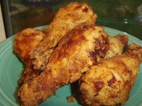 Paula Dean S Spicy Buttermilk Fried Chicken Recipe Food Com Recipe Fried Chicken Recipes Recipes Paula Dean Fried Chicken