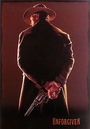 UNFORGIVEN CLINT EASTWOOD 1992 Painting By Classic-Movie-Posters