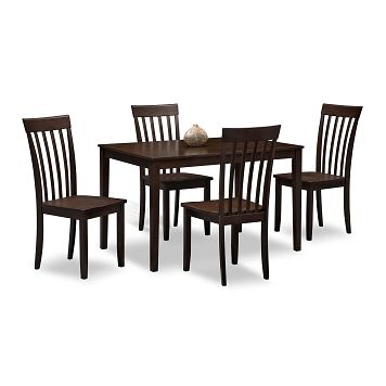 American Signature Furniture   Cyprus II Dining Room 5 Pc. Counter Height  Dinette $699.99 | For The Home | Pinterest | City Furniture, Room And Men  Cave